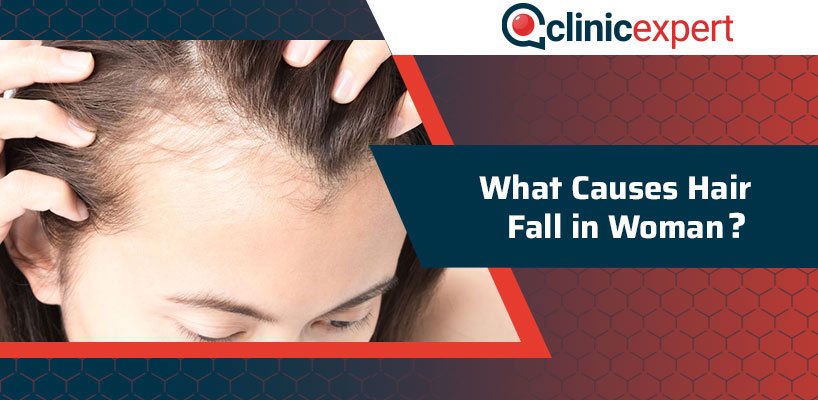 What Causes Hair Fall in Woman?